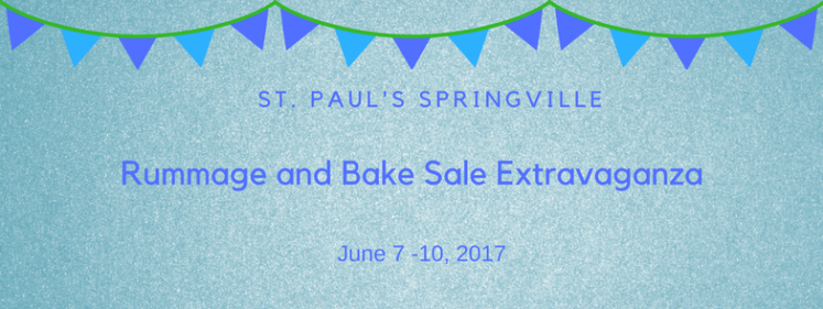Rummage and Bake Sale Extravaganza